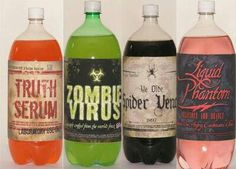 Cute to label your drinks