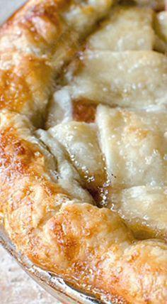 Peach Pie Recipe with All Butter Pie Crust ❊