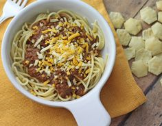 If you like Cincinnati Style Chili, but are looking for a crockpot or clean eating recipe, you've just found it. Simple and easy you'll love this recipe!