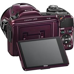 Nikon - Coolpix L830 16.0-Megapixel Digital Camera - Plum - Alternate View 4