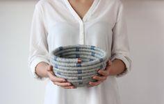 Simplee | cestaria manual | lã e cobre  #basketry #cestaria #wool