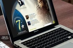 Unlimited Cinema World - Website Design