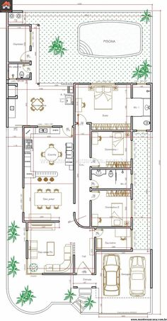Casa 2 Quartos - 170.35m²