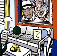 Roy Lichtenstein Interiors