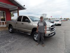 """Best ever....free gas..second car bought from here...will be back..thanks"" -Jon K.  Thanks Jon, and a BIG thanks from the Auto Group! We really appreciate your continued business, and hope you enjoy your new Dodge Ram 2500!"