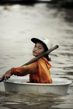 De mensen uit Cambodja