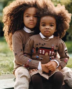 Afro babies <3    I hope my future children have cute afros!1