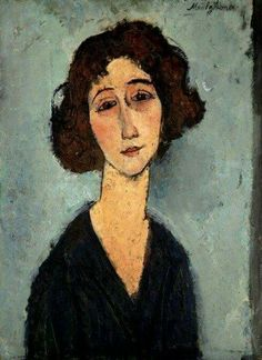 Modigliani Amedeo Jeune Femme Is this really by Modigliani? Amedeo Modigliani, Modigliani Paintings, Oil Paintings, Italian Painters, Italian Artist, Portrait Art, Portraits, Karl Schmidt Rottluff, Arte Fashion