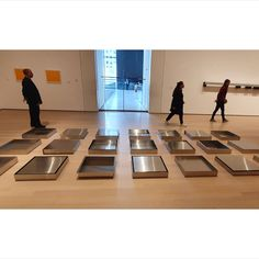 Untitled stainless steel, 21 units, x x cm pic by Moma Collection, Contemporary Art, Nyc, The Unit, Stainless Steel, Desk, Home Decor, Museums, Desktop