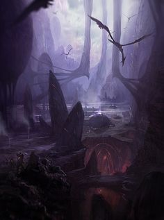 On the surface of Deuterium, winged wraiths ruled the skies while pools of their gaseous acid slowly fed poison to the roots of the gaping skeleton trees. But deep in the caverns below, the Lieged held strong.