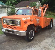 1973 Chevrolet C70 Holmes Wrecker Awesome Winching Power Holmes 600/750