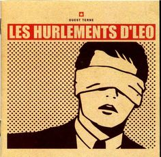 2003 Les Hurlements D'Léo - Ouest Terne (CD+DVD) [Madame Léo 3087452 (FR)] Roy Lichtenstein style #albumcover