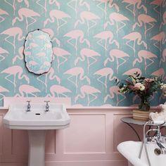 Sanderson Flamingos - engelskatapetmagasinet.se