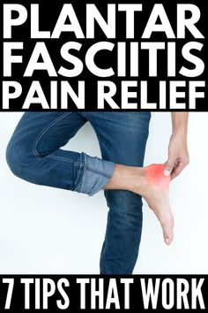 Plantar fasciitis is the inflammation of the plantar fascia (the fibrous tissue) along the bottom of your foot that connects your heel to your toes. It can cause really bad heel pain that occurs when you take your first steps in the morning. Remedies For Plantar Fasciitis, Plantar Fasciitis Stretches, Plantar Fasciitis Treatment, Essential Oil Plantar Fasciitis, Exercises For Plantar Fasciitis, Plantar Fasciitis Symptoms, Plantar Fasciitis Shoes, Ankle Pain, Heel Pain