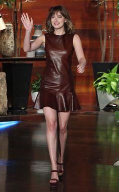 Dakota Johnson Jokes How Fifty Shades Causes Men to ''Run Away'' From Her, Dishes New Details on Fifty Shades Darker. #celebrity #dakotajohnson