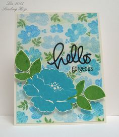 Watercolor challenge cool by quilterlin, via Flickr