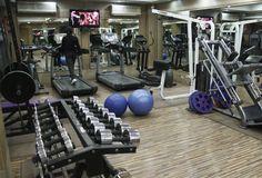 office gym - basement