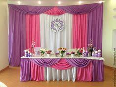 Купить Оформление президиума, стола молодых - оформление свадьбы, оформление зала, украшение ресторана