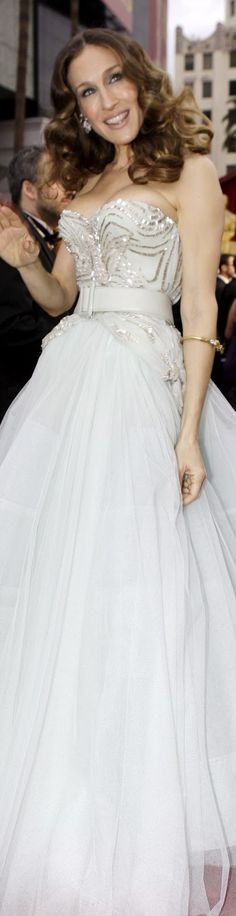 Christian Dior Ball Gown wore by SJP <3 #sexy #strapless #dress