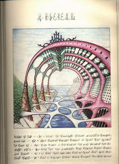 """""""Codex Seraphinianus"""" by Luigi Serafini"""