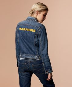 Worried about what to wear for Warriors Week? We've got you covered. Get your gear for the game, Golden State fans. Be ready to rep Dub Nation at the NBA Finals. Blue Jeans, Classic Style, Nba, What To Wear, Golden State, Denim, Finals, Warriors, Forever 21