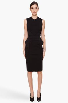 givenchy punto milano knit dress
