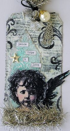 Simon Says Stamp and Show: challenge: inspired by Tim's 12 Tags