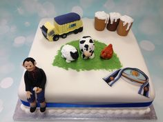 All of someone's favourite things all on one cake, what would you have on yours?