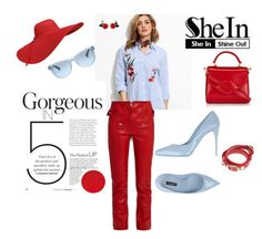 """""""She is gorgeous"""" by agnesmakoni ❤ liked on Polyvore featuring Isabel Marant, Dolce&Gabbana, Lulu Guinness, Balenciaga and Ralph Lauren"""