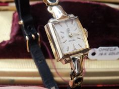 Vintage Omega 14k Gold Watch with a Serenata Suede Band - Serviced! #Omega #LuxuryDressStyles