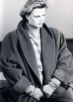 Giorgio Armani, Toronto Life Fashion magazine, September 1987. Photograph by Aldo Fallai.