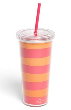kate spade new york stripe insulated tumbler - this would be so much more…