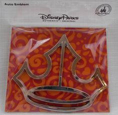 US $12.65 New in Collectibles, Disneyana, Contemporary (1968-Now) You are bidding on a Disney Parks Silver Princess Crown Icon Auto Emblem Sticker Car Decal New Comes brand new and never used Measures about 4 inches tall and 4.5 inches long