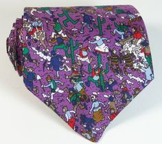 Where's Waldo? Rare Fighting Foresters print neck tie. $49.99