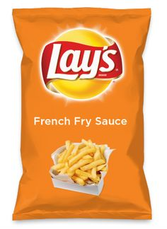 Wouldn't French Fry Sauce be yummy as a chip? Lay's Do Us A Flavor is back, and the search is on for the yummiest flavor idea. Create a flavor, choose a chip and you could win $1 million! https://www.dousaflavor.com See Rules.