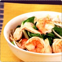 Chicken & Shrimp Soup with Lee Kum Kee™ Chili Garlic Sauce
