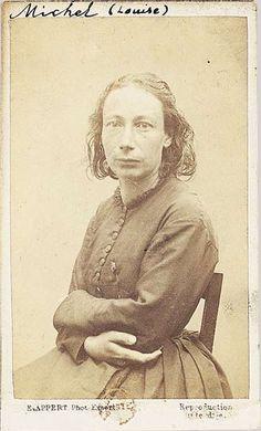 morbid-eleganza:  Louise Michel (1830–1905) French anarchist, school teacher and medical worker.