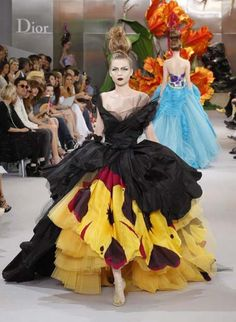 Dior s/s 2010..... All inspired by flowers, this is my favorite collection