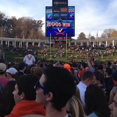 #UVa #Football v. Miami