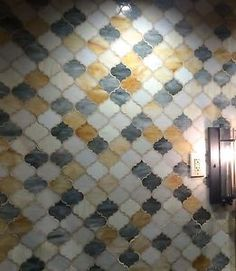 ARABESQUE-MIXED-COLOR-GLASS-TILE-MOSAICS-WALL-BACKSPLASH-SOLD-BY-THE-SHEET