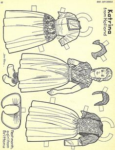 Katrina From Holland Paper Doll by maize hutton, via Flickr