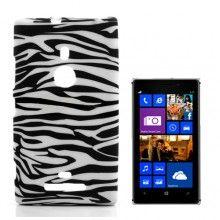 Capa Lumia 925 - Gel Zebra 5,99 €