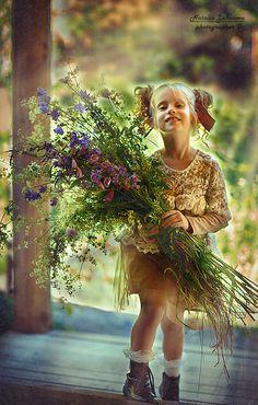 Автор фотографии - фотограф профессионал Наталья Законова (Natalia Zakonova). Веселинка и лето :). Город Санкт-Петербург.