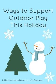 Holiday Giving: Ways to Support Outdoor Play this Holiday - A group of great international organizations that support children's right to outdoor play.
