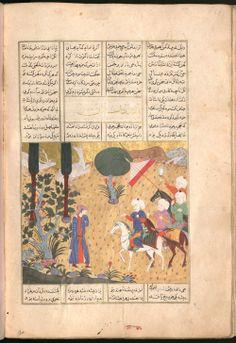 Firdausī: Šāhnāma - BSB Cod.pers. 8. - Iran, 1497 [902 h.] 54 Bayerische Staatsbibliothek