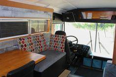 The Bus Code | 1995 Thomas Built Saf-t-liner | Off Grid Ready - Skoolie Livin | School Bus Conversion Guide, Forum, & Classifieds