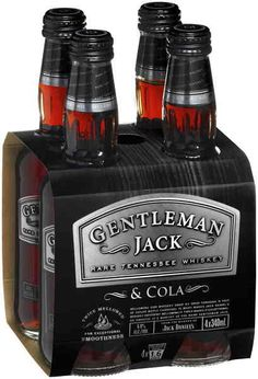 Gentleman Jack & Cola Bottles.