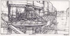Ron Cobb - Total Recall - D-1206-on-Planitia-tr.jpg (1000×522)