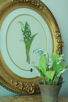 lily of the valley cushion - Google otsing