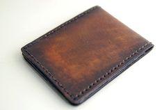The Classic, Men's Wallet, Mens leather wallet, slim wallet, brown wallet, vintage wallet, handmade walletl on Etsy, $70.94 AUD